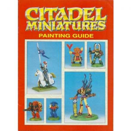 Citadel Miniatures Painting Guide Pamphlet 1992